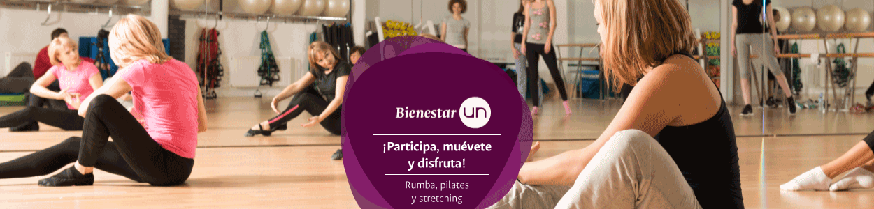 [Rumba, pilates, stretching] Clases grupales...