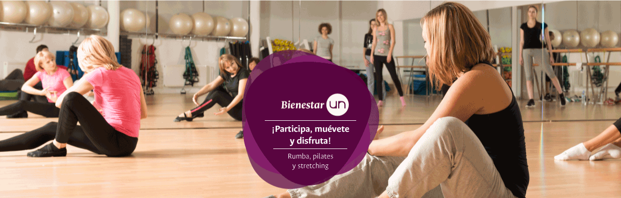 [Rumba, pilates, stretching] Clases grupales todos los miércoles